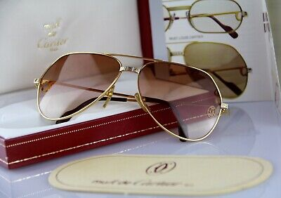 1497e9bcb9 Vintage CARTIER 1984 Occhiali da sole SANTOS VENDOME Sunglasses transition  lense