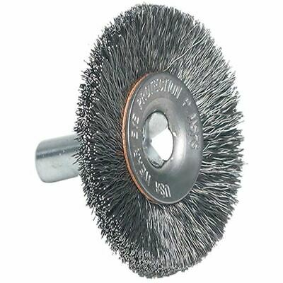 "Pferd Milwaukee 1-1/2"" x .0118' Coarse C/S Cup Circular End Wire Brush (pk/5)"