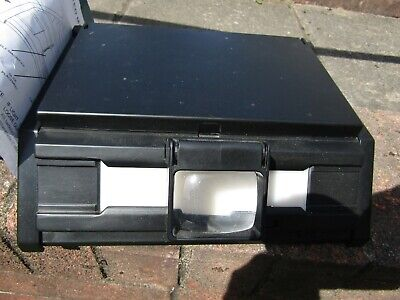 Illuminated Magnifying Negative Viewer, Good Condition In Original Box, With Ins