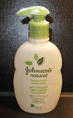 Johnson's Baby Natural Head-to-Toe Wash 9oz (266ml)