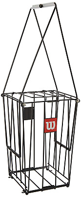 Wilson Tennis Ball Collection Pick-Up Basket 75 Ball Capacity