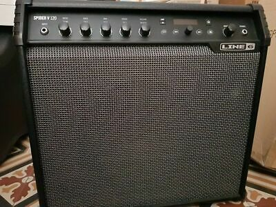 Line 6 Spider V 120 + FBV2 footswich & cover - 120W 1x12'' FrFr Combo