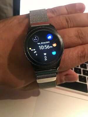 Samsung Gear S2 Classic Smart Watch Android Tizen Black