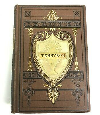 Tennyson's Poetical Works, Houghton Mifflin & Co.,1880, Antique / Vintage Book