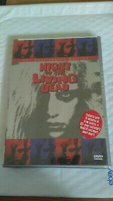 Night of the Living Dead (DVD, 1999) George Romero 30th Anniv. 1968 Brand New
