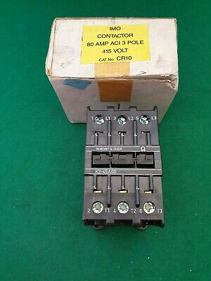 K2-45A00 Benedikt & Jager / IMO Contactor 415 VAC Coil 80 Amp
