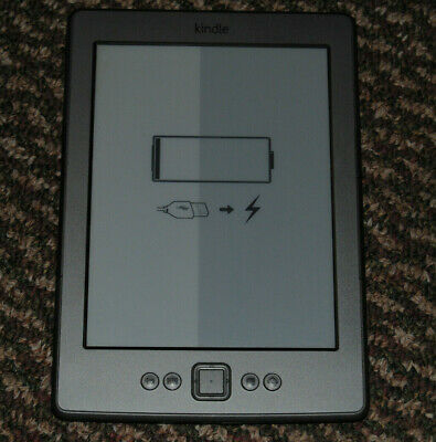 Amazon Kindle 5th Generation eReader, 2GB, WiFi 6in, Black, D01100