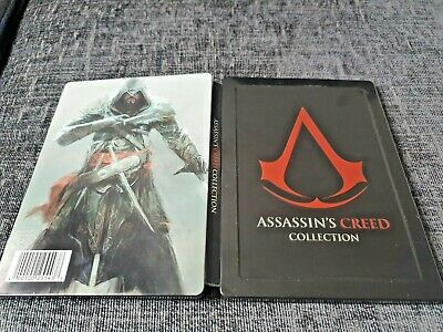 ASSASSINS CREED Collection Futureshop Exclusive Empty G1 Steelbook New - No Game
