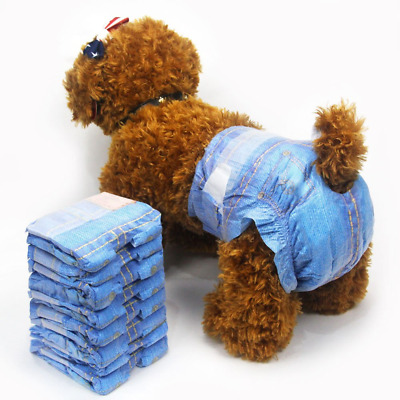 Female Dog Diapers Disposable Incontinence Small Dog Puppy Nappies Doggy Diapers