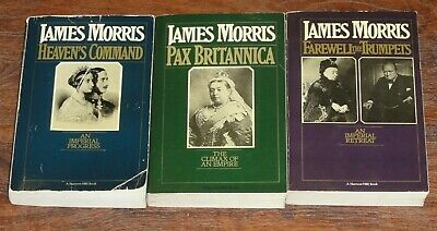 PAX BRITTANICA Trilogy James Morris 3 books Heaven's Command Farewell Trumpets