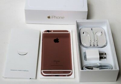Apple iPhone 6s - 32GB - Rose Gold (Verizon) A1688 (CDMA + GSM)Sealed New Other