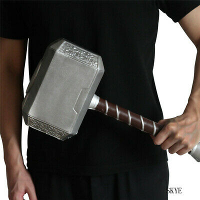 The Avengers Thors hammer 1:1 Cosplay Prop Thor PU Weapon Replica Halloween COS