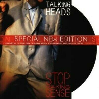 Talking Heads Stop Making Sense 7 Extra Tracks Remastered CD NEW