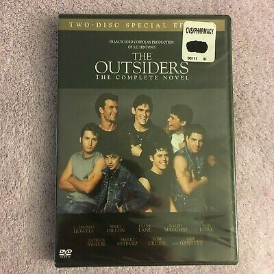 The Outsiders (DVD, 2005, 2-Disc Set, Widescreen Special Edition) Brand New