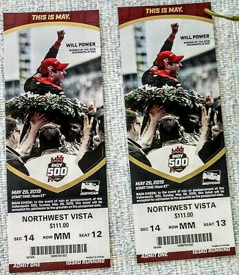 2019 indianapolis indy 500 tickets