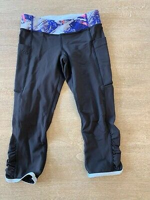 9b873cfc95901e GIRLS IVIVVA CAPRI Leggings Size 14 Black EUC - $9.00 | PicClick
