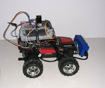 RC Robot car Project Wifi controlled by android App