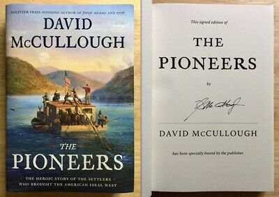 The Pioneers SIGNED by David McCullough 1st Edition 1st Printing HC DJ BRAND NEW