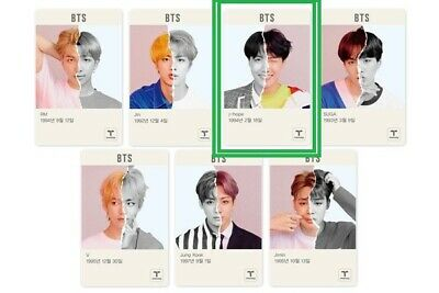 BTS J-Hope Tmoney Limited Edition 1ea Brand New Free Shipping+Tracking *kpop
