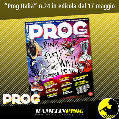 Prog Music Rock Italia Pink Floyd The Wall Speciale 40 anni