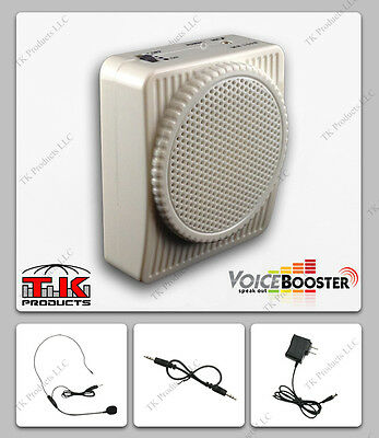 Costume VoiceBooster Voice Amplifier 10W Stormtrooper Armor White MR1508 (Aker)