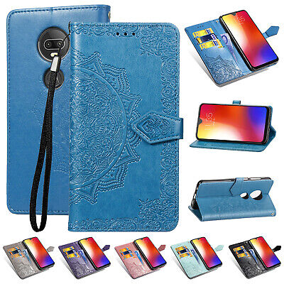 db76f20f7ccfa4 For Motorola G7 Plus G7 Power P30 Play Note Magnetic Leather Wallet Case  Cover