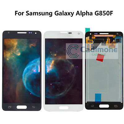 LCD Écran Pour Samsung Galaxy Alpha G850F tactile Touch Screen Digitizer Display