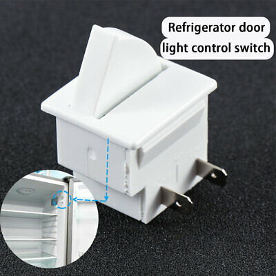 Light Switch 5A 125V  2Pins Refrigerator Door Lamp Lamp Fridge Appliance Parts