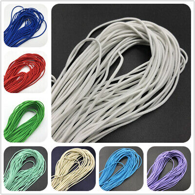5yards 2mm Round Elastic Band Round Elastic Rope Rubber Band Elastic Line