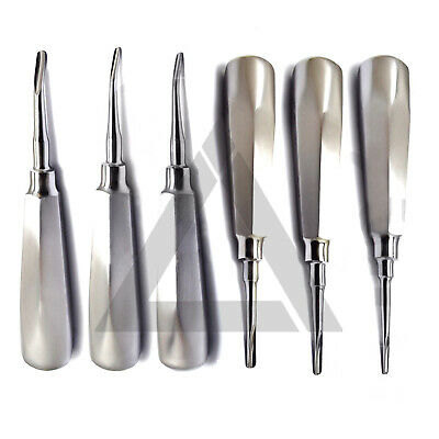 Oral Surgery Kit Root Canal Luxation Elevator Coupland Tooth Extracting Luxating