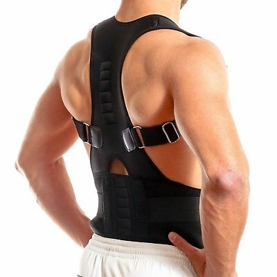 Hot Posture Corrector Support Magnetic Back Shoulder Brace Belt Adjustable