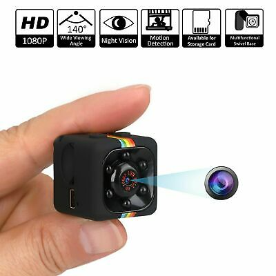 Mini Camera 1080P Hd Micro Cam Microcamera Sq11 Visione Notturna