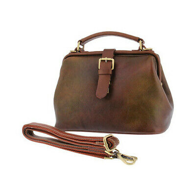 L'Artiste by Spring Step Women's   Doctor Cross Body Bag Brown Multi Size OSFA