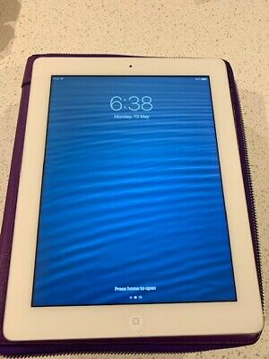 Ipad 4th Gen Wifi Only 64gb Inluding Coach Cover !