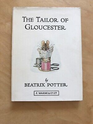 The Tailor Of Gloucester by Beatrix Potter antique book, 1970s