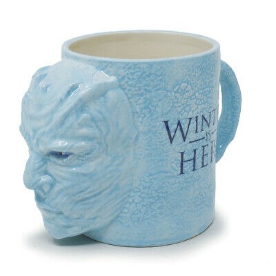 GAME OF THRONES NIGHT KING - 3D SHAPED CERAMIC MUG 1000ml - OFFICIAL PRODUCT!