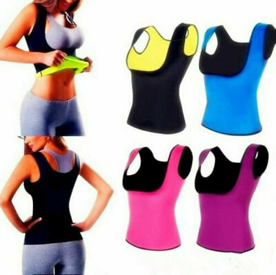 New Sweat Sauna Body Shaper Women Slimming Vest Thermo Weight Loss Waist Trainer