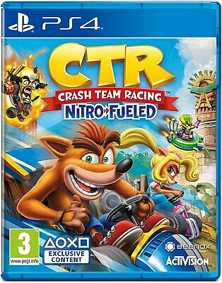 CTR Crash Team Racing Nitro Fueled inkl Bonus-DLC (PS4) (NEU OVP) (Blitzversand)