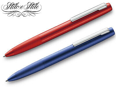 Lamy Aion Red & Dark Blue | Penna Sfera Special Edition 2019 | Ballpoint Pen