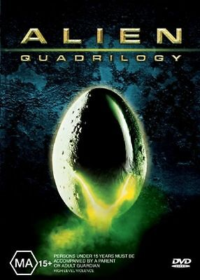 Alien Quadrilogy (DVD, 2003, 9-Disc Set) Sigourney Weaver