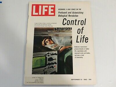 Control of Life, Ultrasonic Test Life Magazine, September 10, 1965 JF1