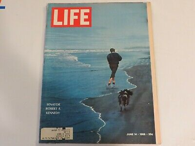 LIFE Magazine June 14 1968 ~ Senator Robert F. Kennedy Death JF1