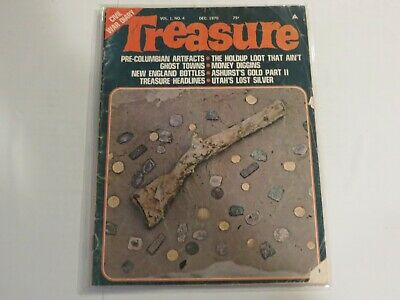 Treasure December 1970 Civil War Diary Lost Money Gold NN1