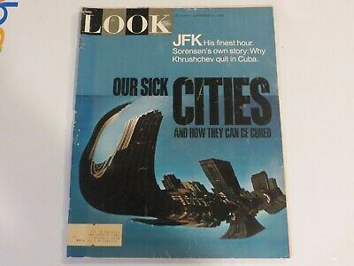 LOOK Magazine September 21 1965 JOHNNY UNITAS CITIES FASHION JF1