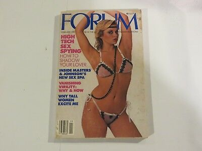 Forum Digest High Tech Sex Spying February 1984 AB1
