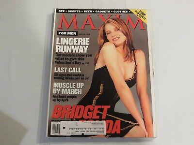 Maxim January February 1999 Bridget Fonda NN1