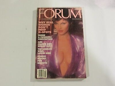 Forum Digest Real Women Don't Need G-Spots March 1984 AB1