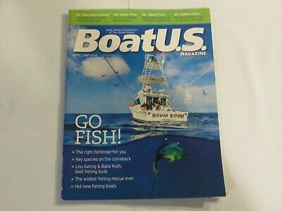 Boat US April May 2014 boating magazine yacht marine Go Fish V1
