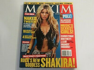 MAXIM Magazine #55 July 2002 Shakira NN1