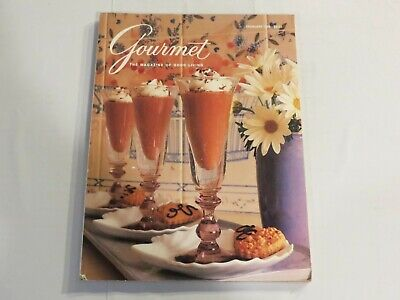 Gourmet Magazine February 1989 French Cooking Deserts Sweets Recipes NN1